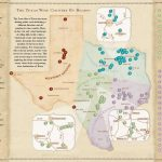 Texas Wine Country Map  Texas Has Eight Officially Recognized   Texas Wine Country Map