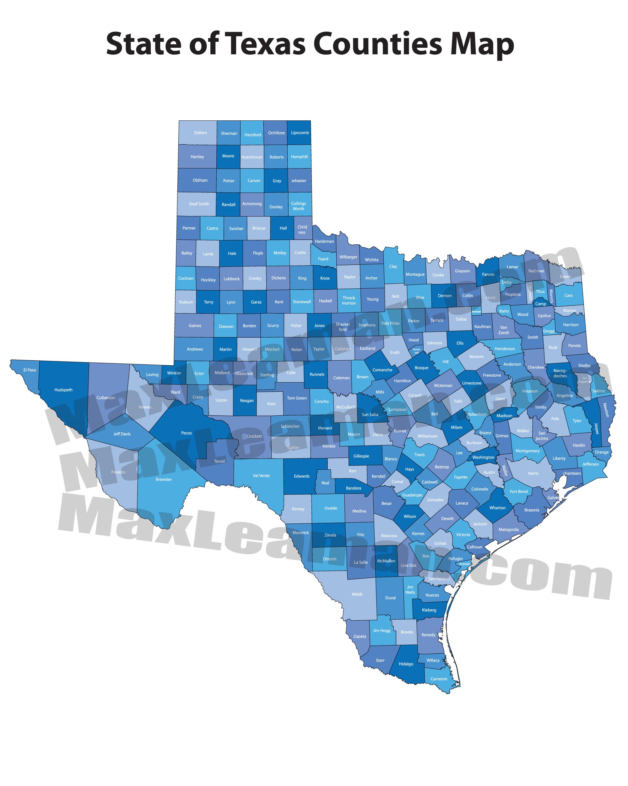 Texas Zip Code Maps   Mortgage Resources - Texas Zip Code Map