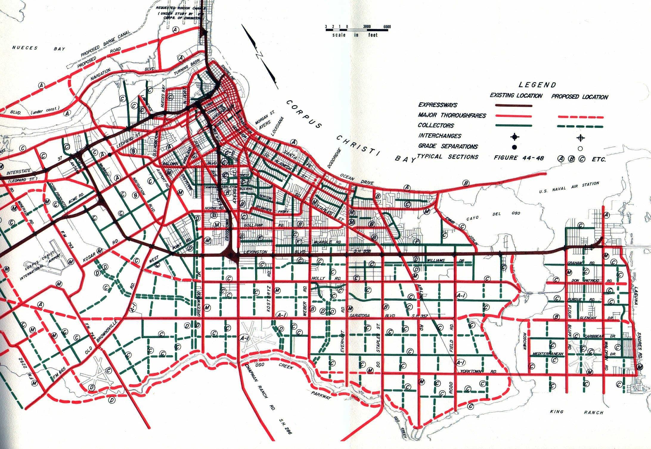 Texasfreeway > Corpus Christi - City Map Of Corpus Christi Texas