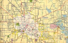 Texasfreeway > Houston > Historical Information > Old Road Maps – Show Map Of Houston Texas
