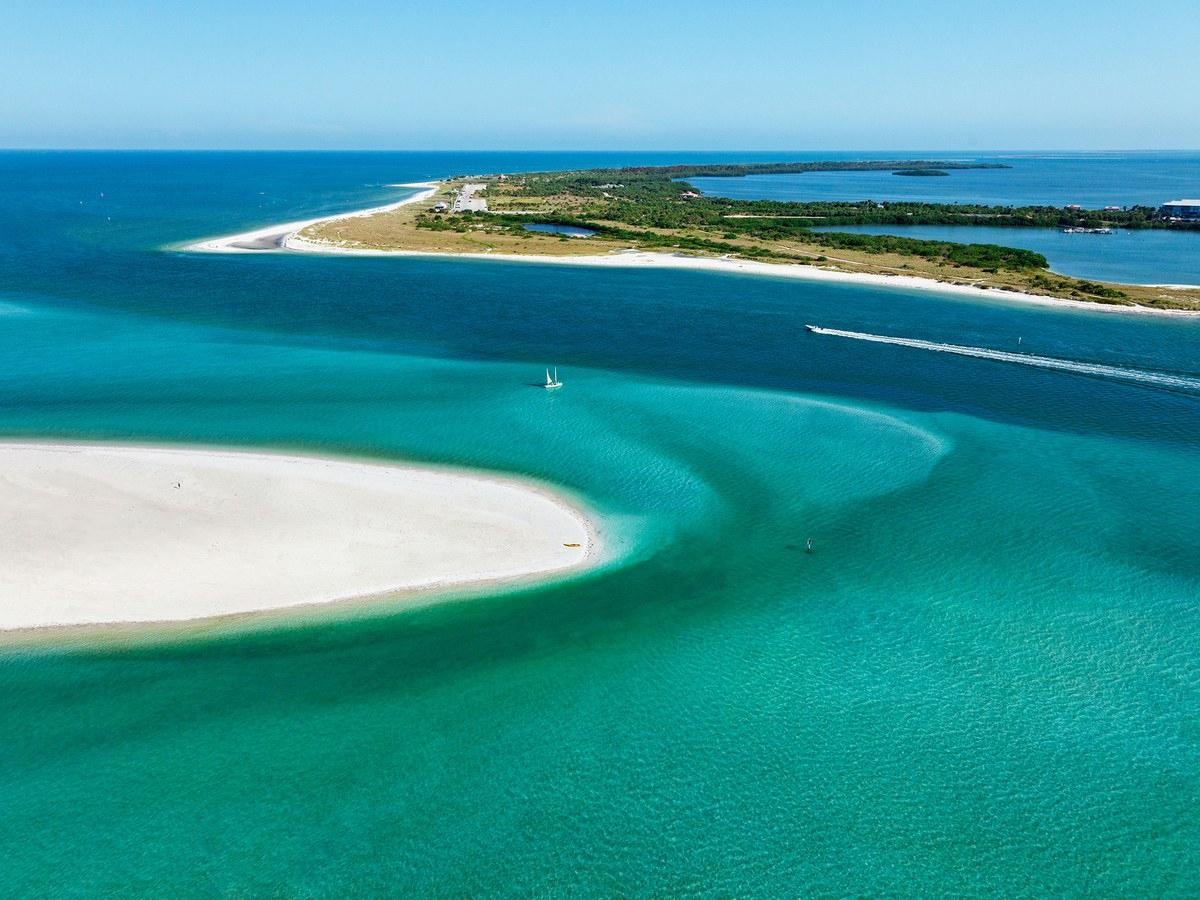 The 15 Best Beaches In Florida - Condé Nast Traveler - Best Florida Gulf Coast Beaches Map
