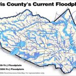 "The ""500 Year"" Flood, Explained: Why Houston Was So Underprepared   Harris County Texas Flood Map"