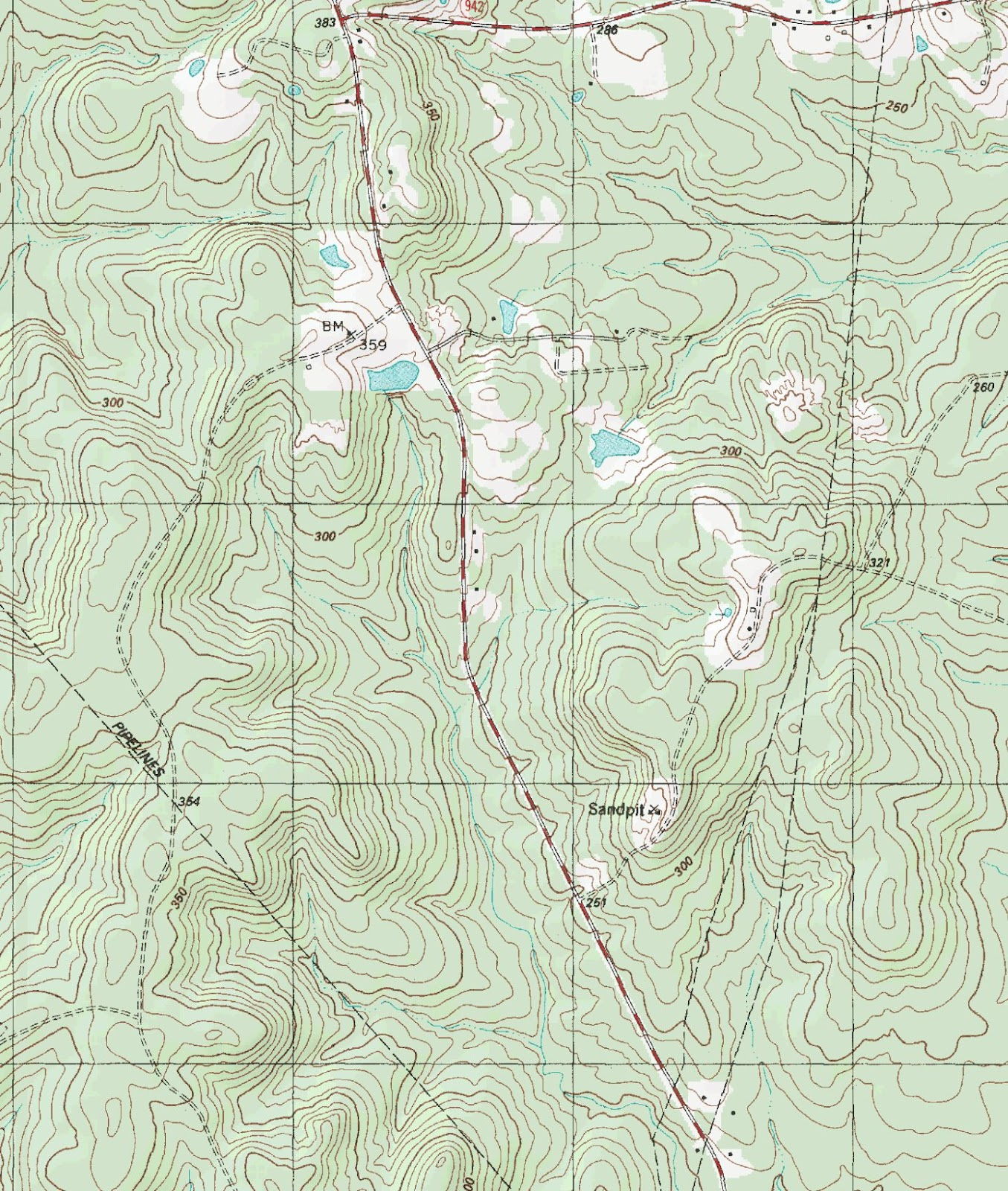 The Barefoot Peckerwood: Free Printable Topo Maps - Printable Topo Maps