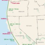The Classic Pacific Coast Highway Road Trip | Road Trip Usa   Map Of Hwy 1 California Coast