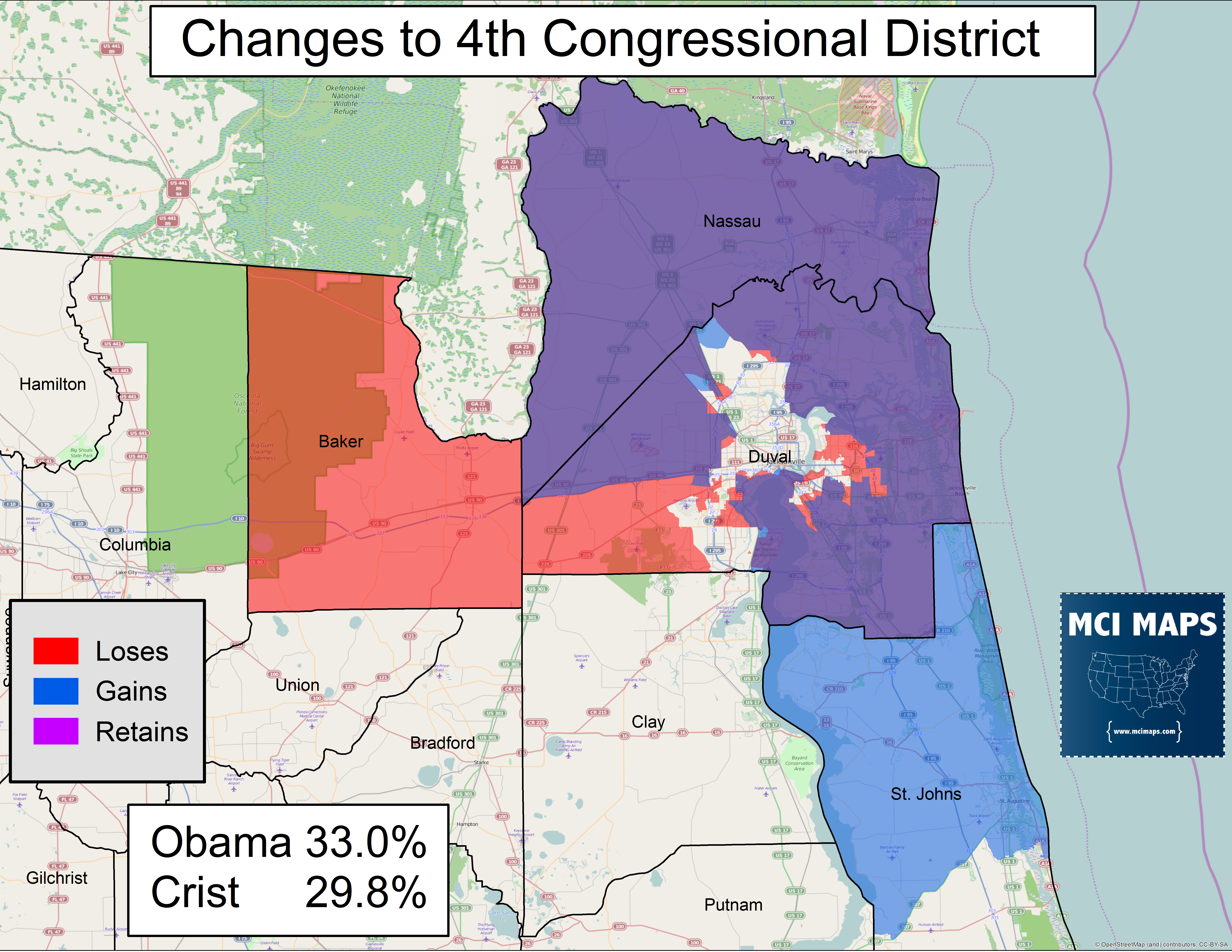 The Complete Breakdown Of Florida's Proposed Congressional Districts - Florida 6Th Congressional District Map