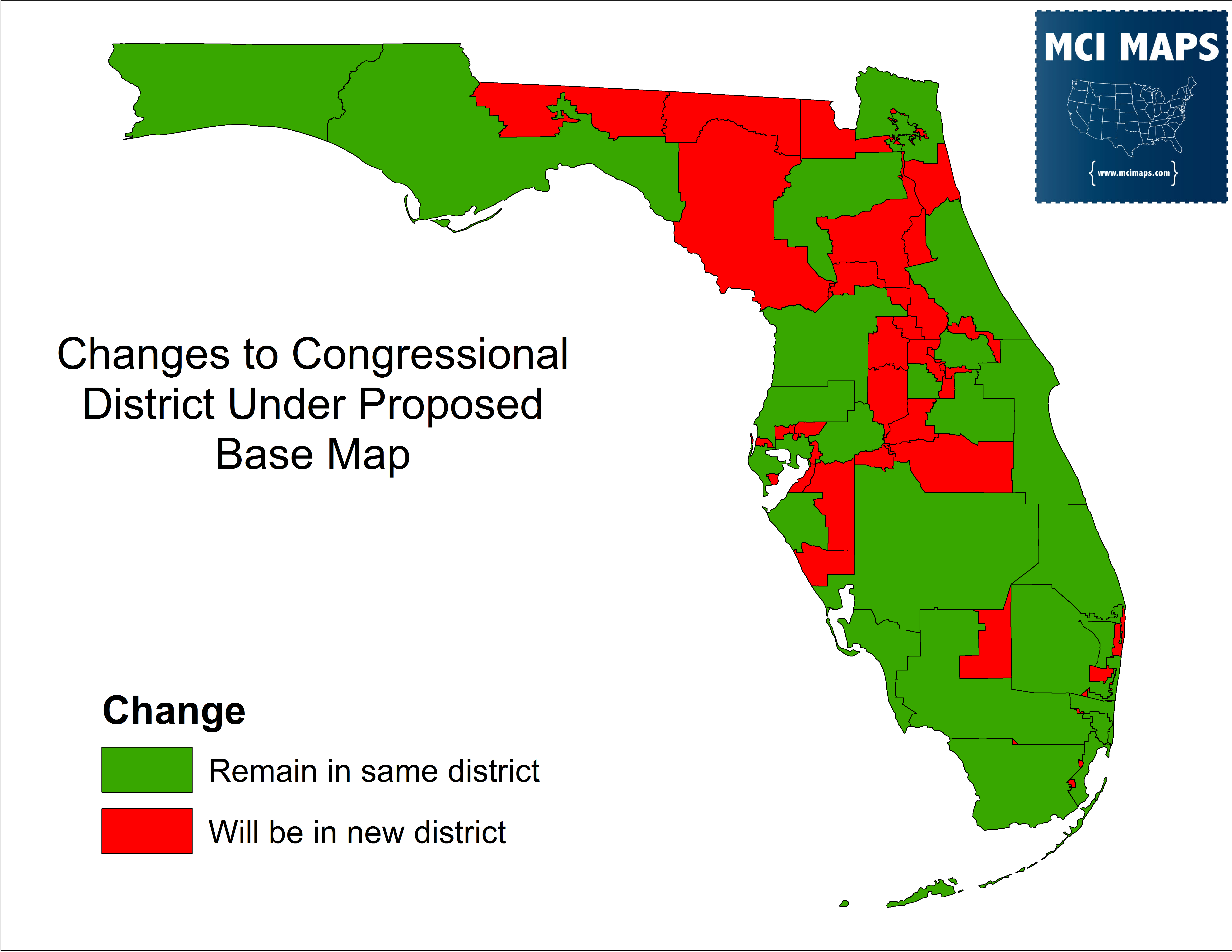 The Complete Breakdown Of Florida's Proposed Congressional Districts - Florida Heat Index Map