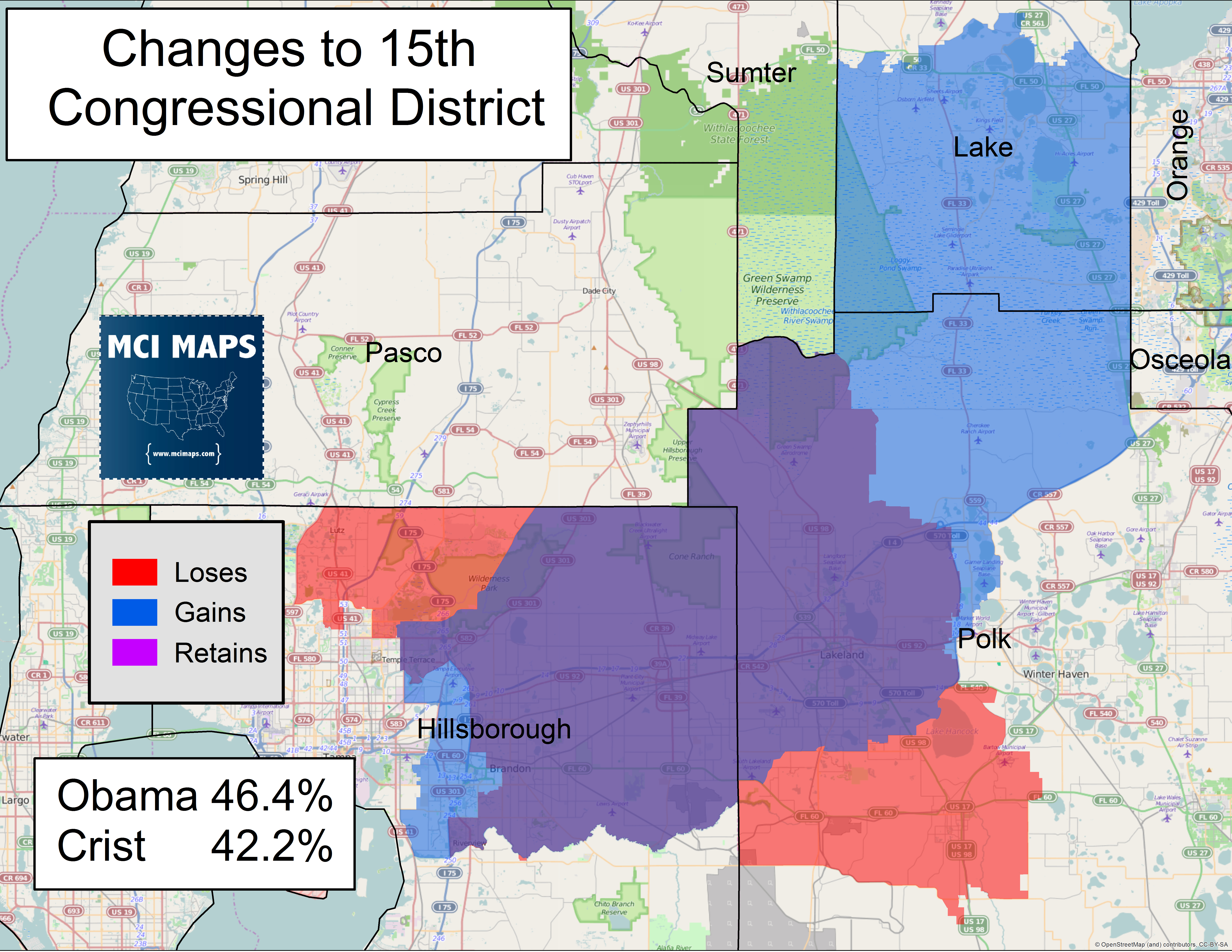 The Complete Breakdown Of Florida's Proposed Congressional Districts - Webster Florida Map