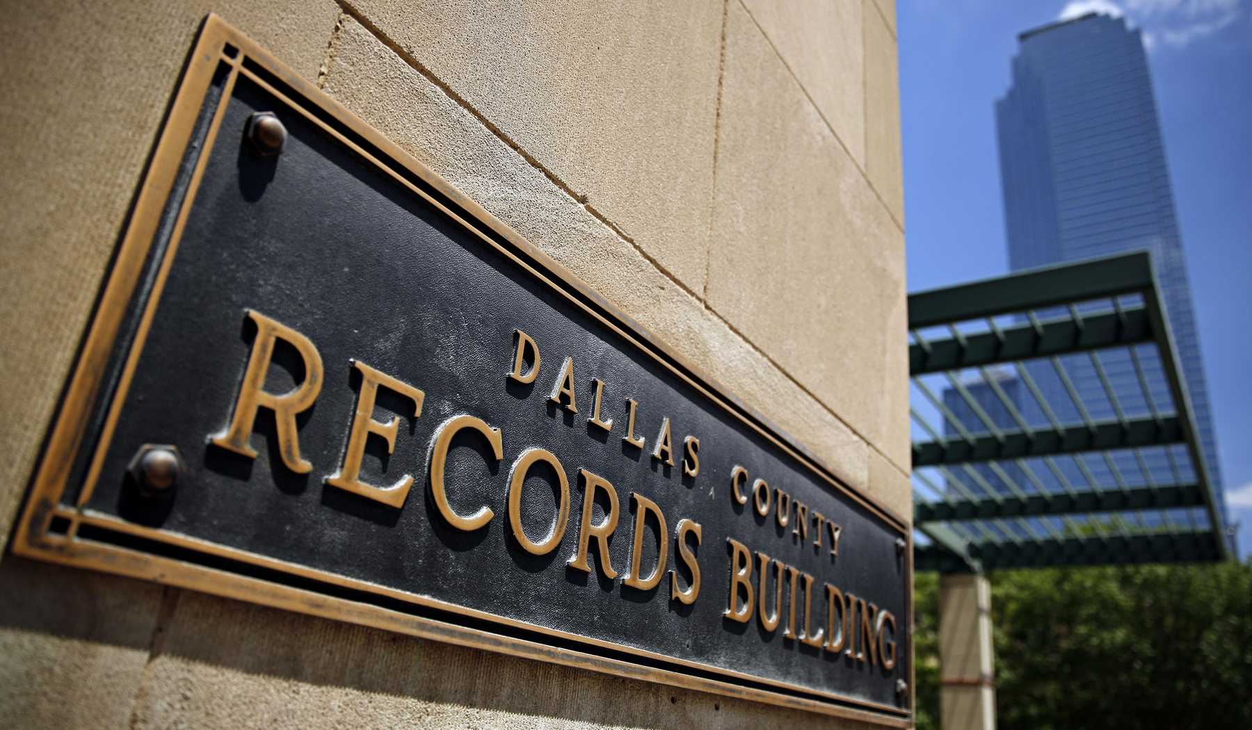 The Dallas County Records Complex, Where Jack Ruby Was Once Jailed - Map Records Dallas County Texas