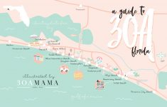 The Essential Guide To 30A – From A Local Mom – 30A Mama™ | Jami – Alys Beach Florida Map