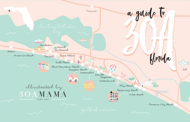 Alys Beach Florida Map