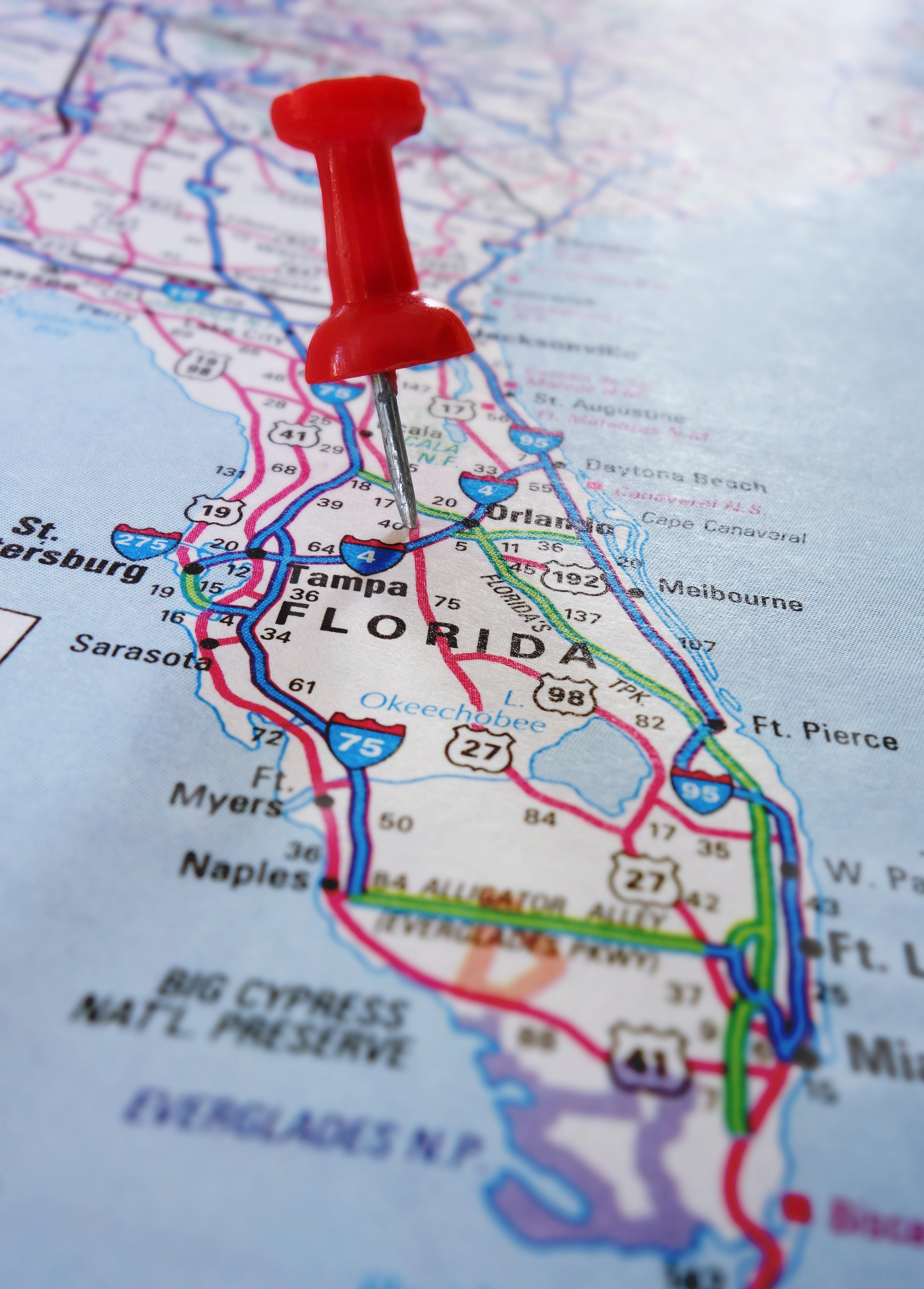 The Florida High Tech Corridor - Growing High Tech Industry & Innovation - Florida High Tech Corridor Map