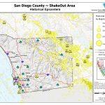 The Great California Shakeout   San Diego County Earthquake Hazards   Earthquake California Index Map
