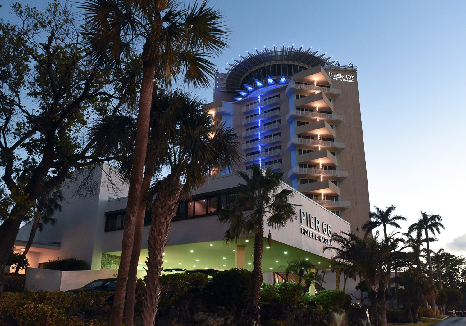 The Iconic Pier Sixty-Six Hotel & Marina | Fort Lauderdale Hotel - Map Of Hotels In Fort Lauderdale Florida