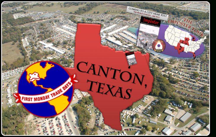Canton Texas Map Trade Days