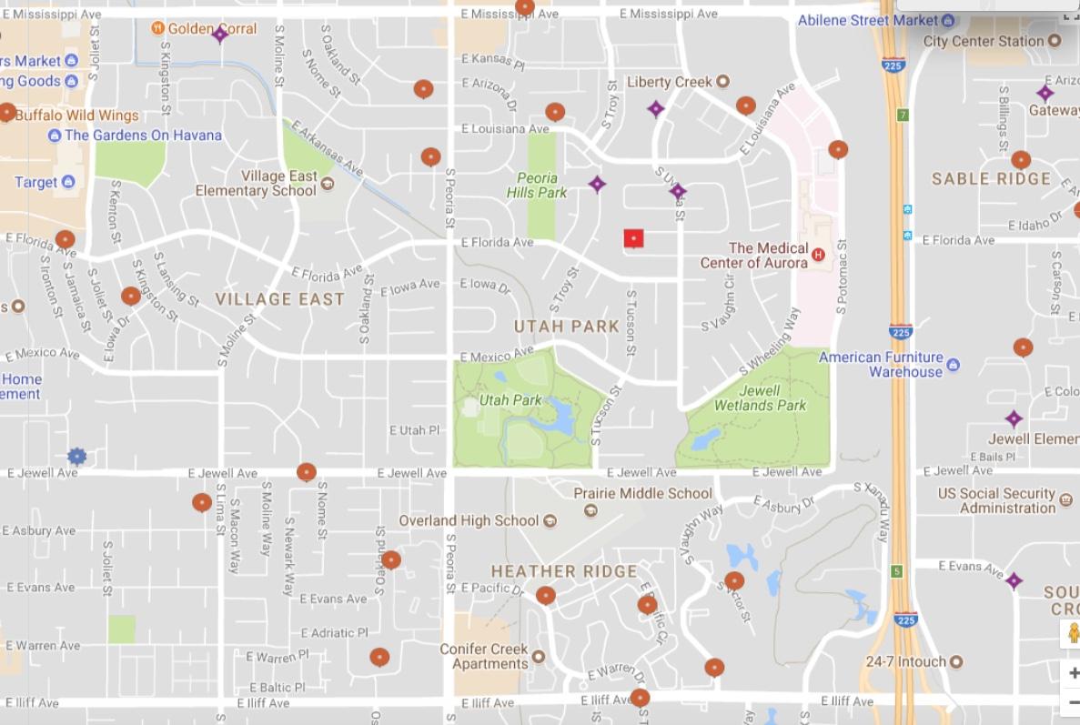The List - Sentinel Colorado - Sexual Predator Map Texas
