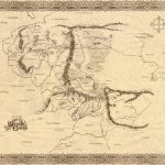 The Lord Of The Rings Maps   Printable Map Of Middle Earth