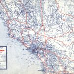 The Lost U.s. Highways Of Southern California History | Kcet   Old Maps Of Southern California