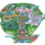 The Magic Kingdom Park |   Magic Kingdom Orlando Florida Map