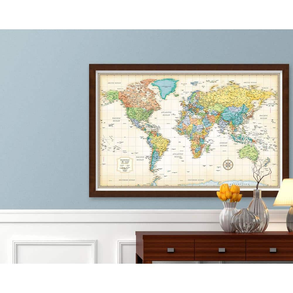 The Map Shop - Wall Maps, Travel Maps, Guide Books, Globes, Flags - Florida Scratch Off Map