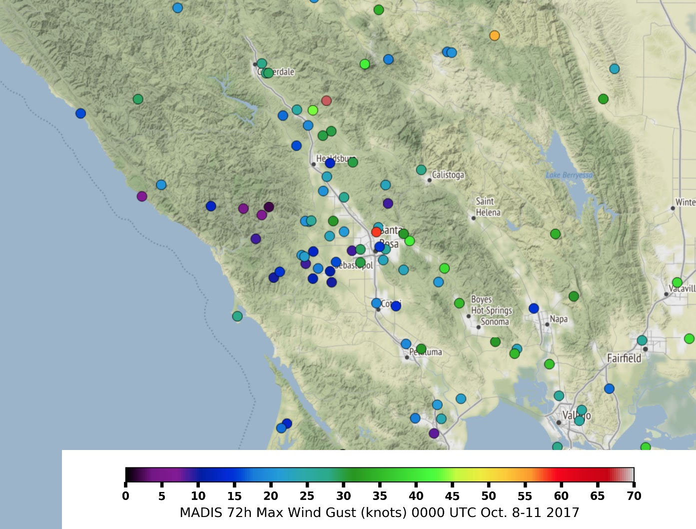 The Northern California Fires California Map With Cities Northern - Northern California Weather Map