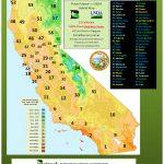 The Plantfinderwest Magazinebetrock Information Systems   Usda Zone Map California