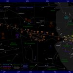 The Position Of Mars In The Night Sky: 2017 To 2019   Southern California Night Sky Map