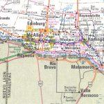 The Rio Grande Valley Texas Map   South Texas Cities Map
