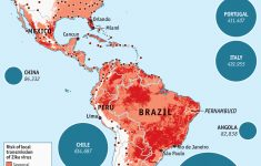 The Spread Of Zika Virus – Daily Chart – Zika Florida Map