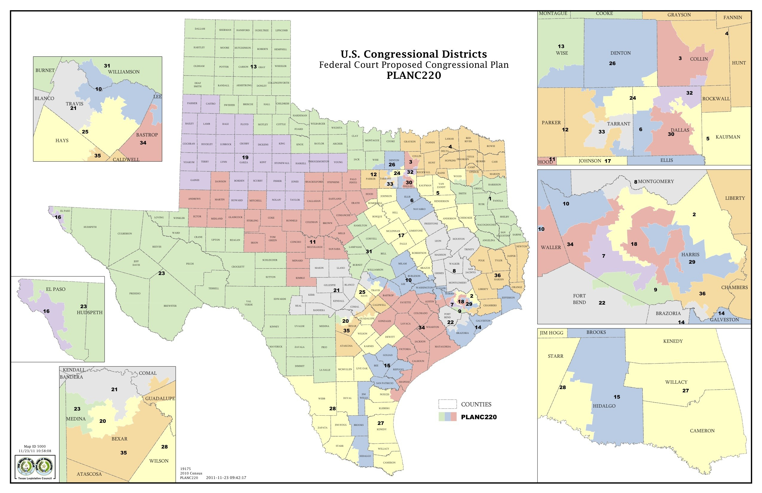 The Supreme Court Just Gutted Texas' Defense Of Its Racially - Texas Representatives District Map