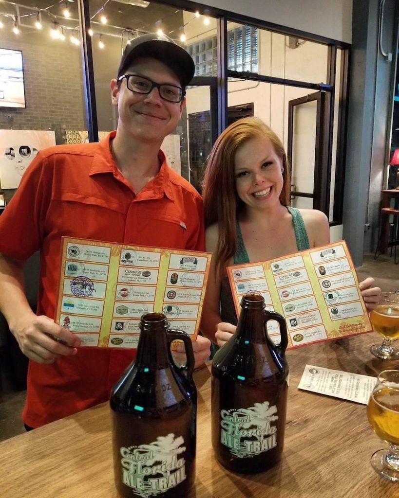The Ultimate Guide To Date Night On The Central Florida Ale Trail - Central Florida Ale Trail Map