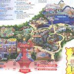 Theme Park Brochures Disney S California Adventure And Map Adeaed   California Adventure Map 2017 Pdf