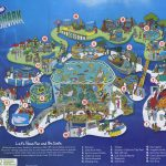 Theme Park Brochures Sea Life Aquarium   Theme Park Brochures   Florida Aquarium Map