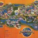 Theme Park Brochures Universal Orlando Resort   Theme Park Brochures   Map Of Universal Florida Hotels