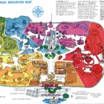 Theme Park Brochures Walt Disney World   Magic Kingdom   Theme Park   Magic Kingdom Orlando Florida Map