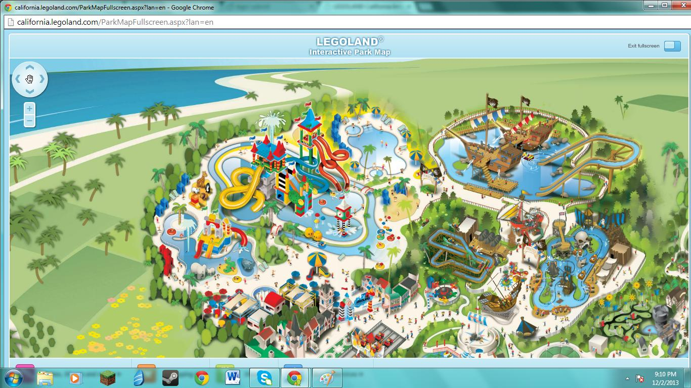 Theme Park Review • Legoland California Discussion Thread - Page 19 - Legoland California Water Park Map