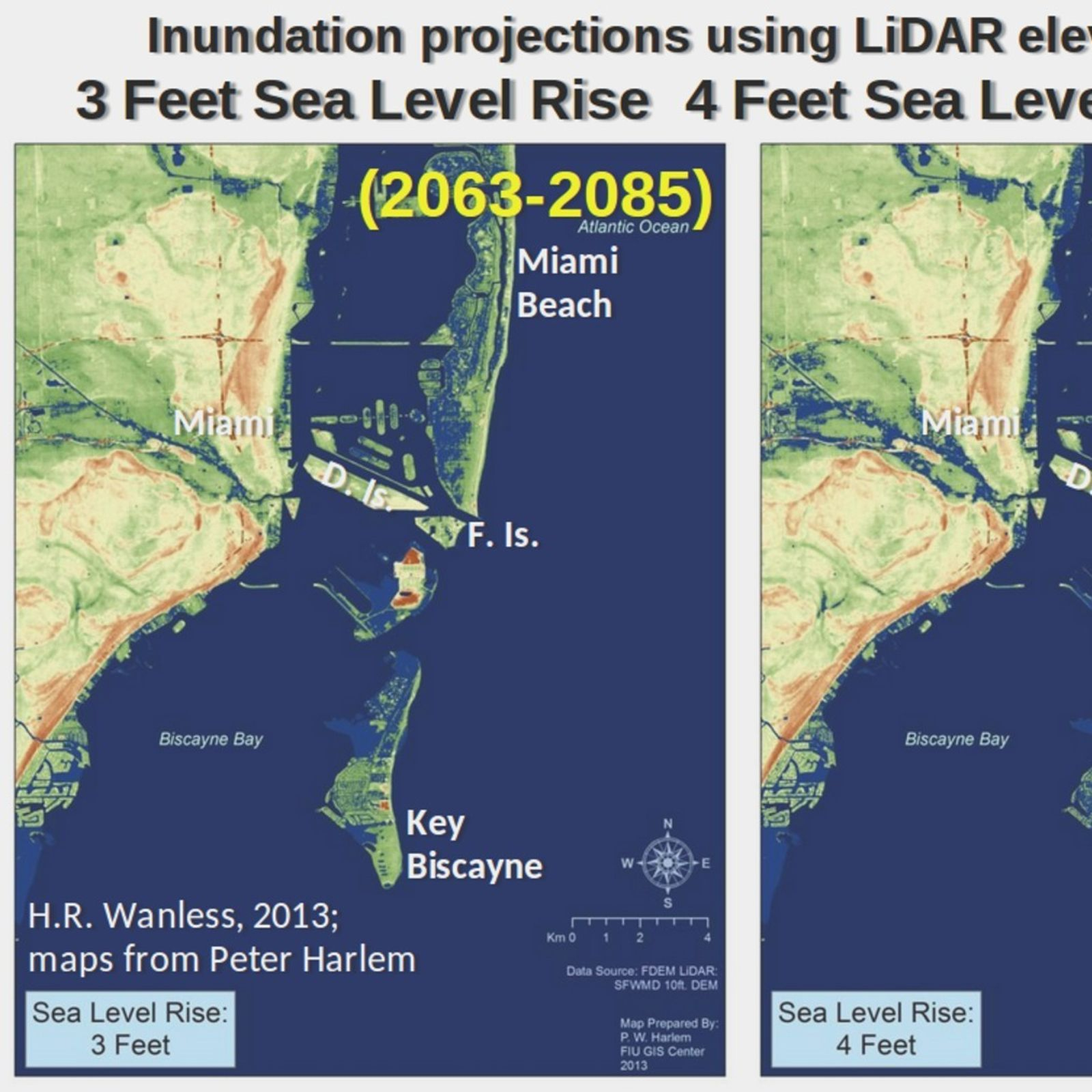 This Is What Climate Change Is About To Do To Florida And New York - Florida Global Warming Map