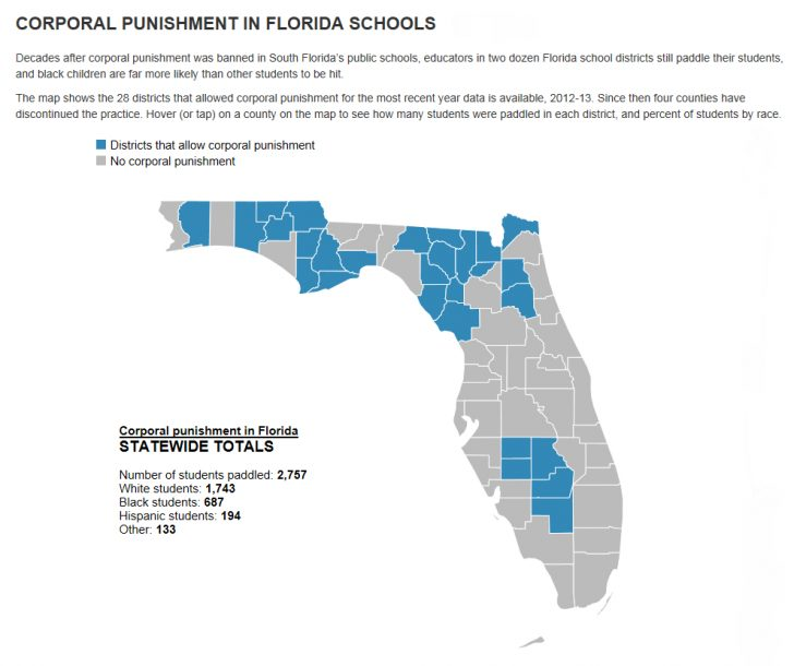 Florida School Districts Map
