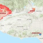 This Map Shows How Big And Far Apart The 4 Major Wildfires Are In   California Fire Map 2017