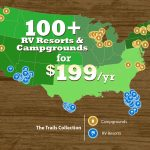 Thousand Trails   Trails Collection Pros And Cons   Getaway Couple   Thousand Trails Florida Map