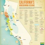 Thumbnail Map Of Cities Wine Regions California Map   Klipy   Map Of California Wine Appellations