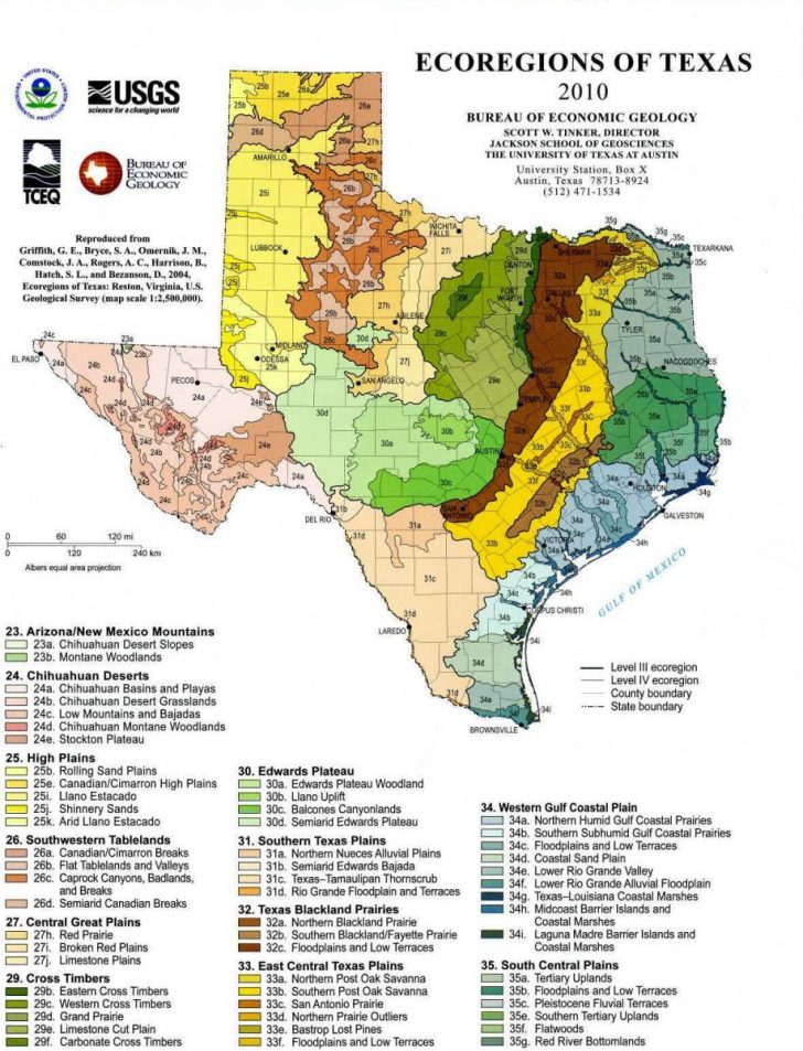 Texas Mineral Classified Lands Map