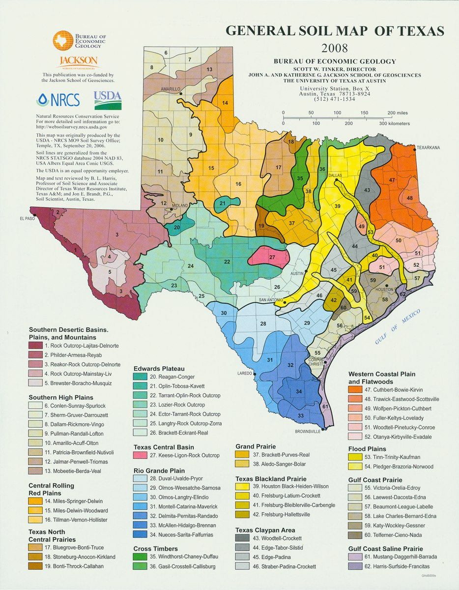 Tobin Map Collection - Geosciences - Libguides At University Of - Texas Soil Map
