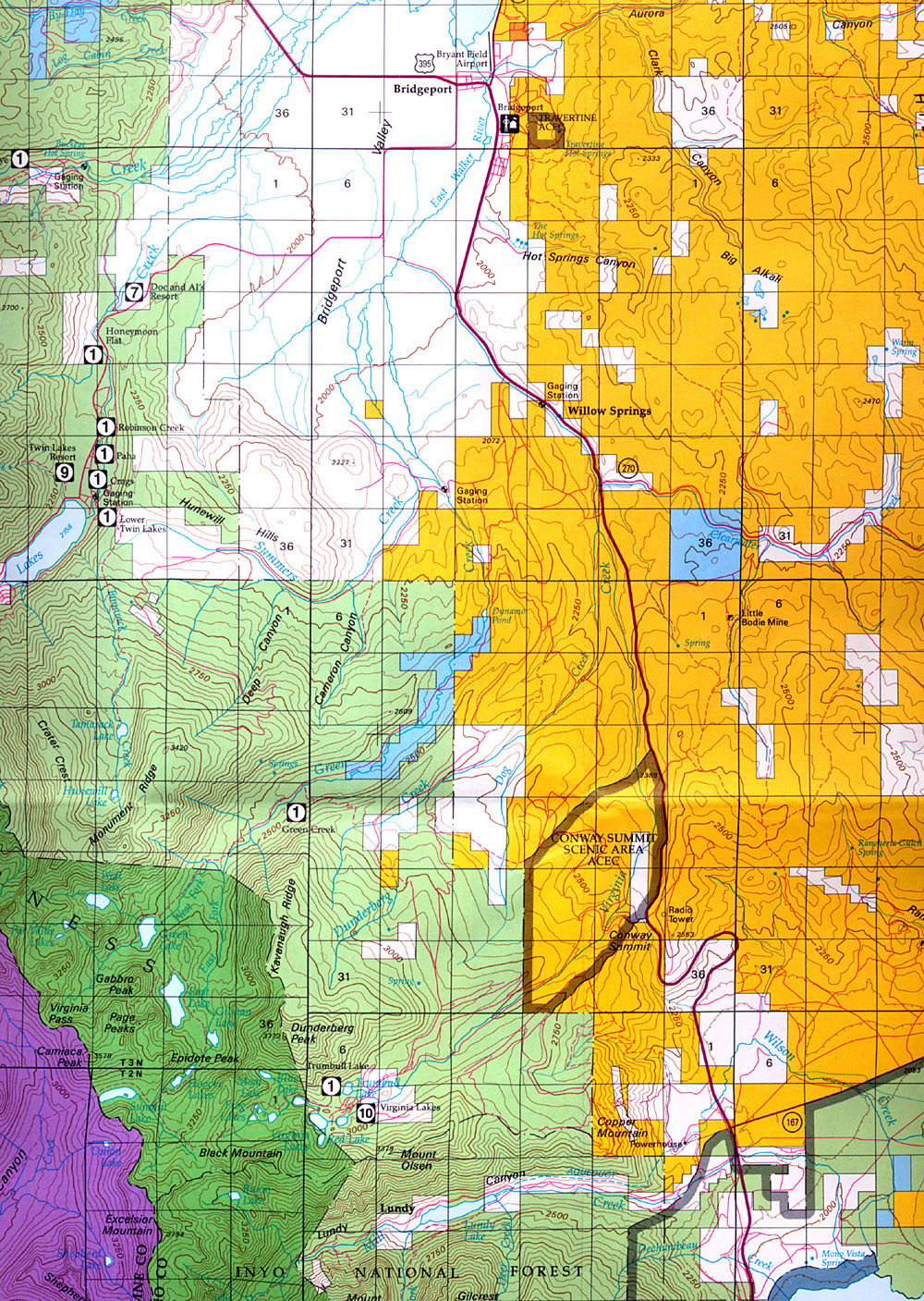 Toiyabenf Blm California Map With Cities Map Of Blm Land California - Blm Map California