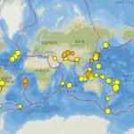 Tonga Kermadec Trench, Chile And Florida (Florida?): Earthquakes 14   Florida Earthquake Map