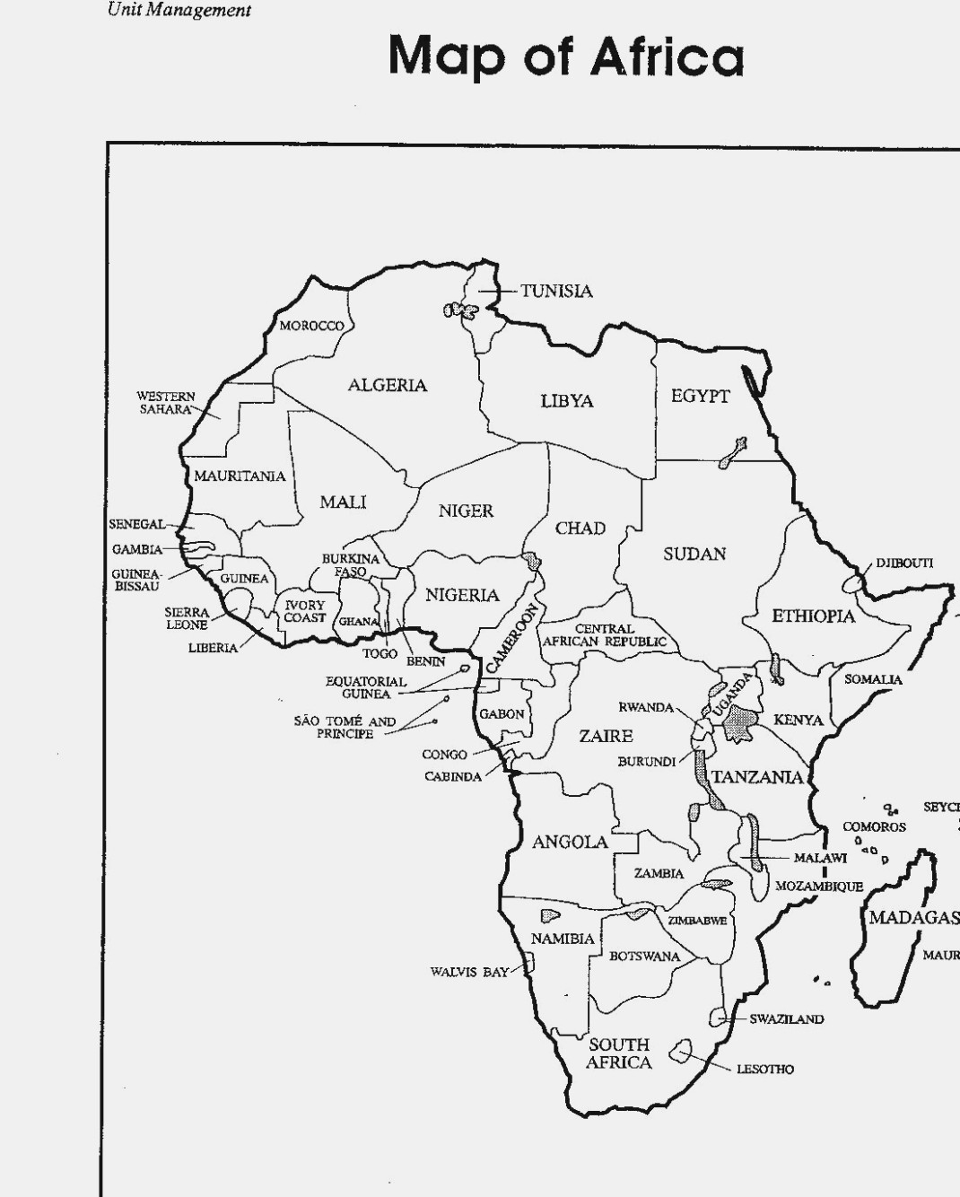 Top Seven Fantastic Experience Of   Label Design Inspiration - Printable Map Of Africa With Countries Labeled
