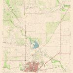 Topographic Map   North Alice Texas Quad   Usgs 1963   23 X 28.16   Alice Texas Map