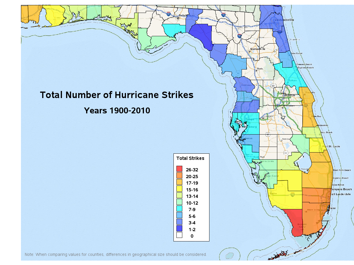 Tornadoes: Picking Up The Pieces With Sas - Florida Hurricane Damage Map