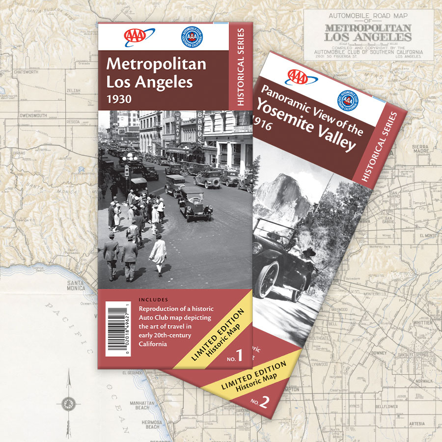 Tourbook®, Maps & Directions - Aaa California Map