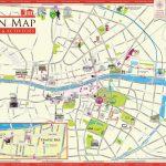 Tourist Map Dublin   Map Of Dublin Tourist Attractions (Ireland)   Dublin Tourist Map Printable