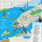 Tourist Map Of New York City Printable Download Map Nyc Tourist – Printable New York City Map With Attractions